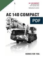 All Terrain Terex Ac 140 Compact