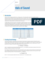 Fundamentals of Sound