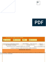 Formato de Plan Mate Ebv 931. 15-16