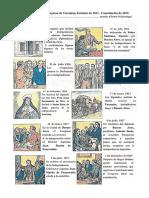 Acciones principales del Congreso de Tucumán, Estatuto de 1817, Constitución de 1819, Caída del Directorio
