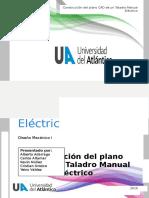 Informe Taladro electrico en solidworks