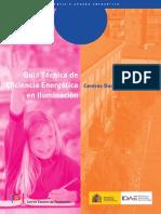 Guía Técnica de Iluminación en Centros Docentes