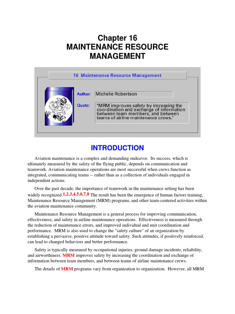 Faa Human Factors In Aviation Maintenance Amp Inspection Research