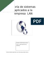 Teoría de sistemas aplicados a la empresa  LAN