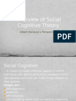 Overview of Social Cognitive Theory