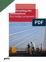 Key Budget Proposals