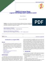 SAS 9.4 Sous Linux - Logiciel Hermétique Pour Système Ouvert