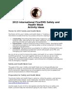 2015-SHWeek-ActivityIdeas