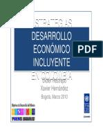 ESTRATEGIAS Desarrollo Economico Incluyente