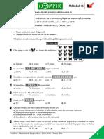 Subiect Si Barem Matematica EtapaII ClasaIII 14-15