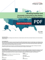 Working Families and Economic Insecurity in the States