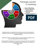 Psihologia Culorilor in Marketing