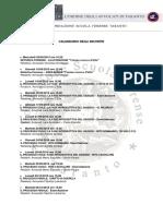 Programma Seconda Parte 2014-2015
