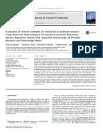 Estudio para reducción de la contaminación del aire en Chemburg
