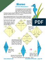 Seahorse Origami
