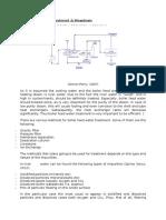 Boiler Feed water Treatment & Blowdown