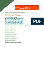 Panduan2 Topup XOX
