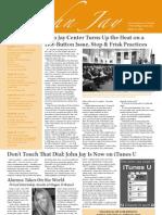 @John Jay Newsletter (March 31, 2010)