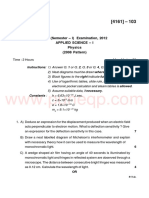 All Branches - FE - APR 2012 - PHY - Applied Science 1 (I) Physics 107002