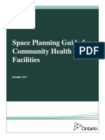 Space Planning Guide for Community Health Care Facilities (2014!12!22) (1)