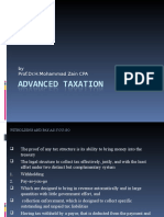 Advanced Taxation