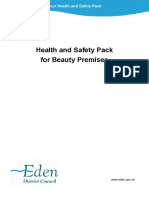 Health and Safety Pack for Beauty Premises
