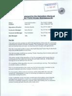 Method Statement for Demoliton Works