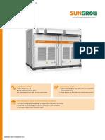 Solar Inverter Data sheet