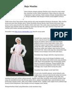 Tips Cara Memilih Baju Muslim