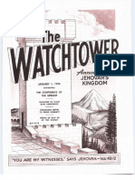 The Watchtower - 1958 issues