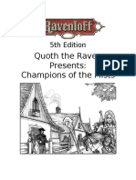 5e - Ravenloft Campaign Guide