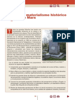 El materialismo histórico de Marx