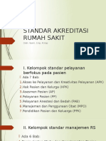 Data Standar Akreditasi Rumah Sakit