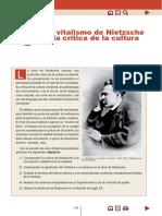 Nietzsche y la critica a la cultura