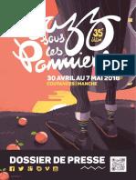festival Jazz sous les Pommiers 2016 - dossier de presse