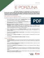 Boletín PSOE Porzuna - Marzo 16