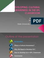 Developing Cultural Awareness in Efl