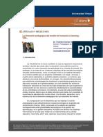 ARTICULOSYREFLEXIONES Ladimensionpedagogicadelmodelodeformacionb Learning USIL