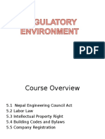 Chapter 5. Regulatory Environment