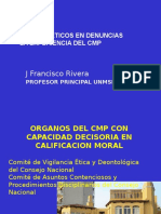 Análisis de Denuncias CMP