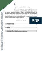03 Raw Material Supplier Checklist 101214