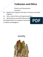 CHII Duties and Liabilities of Engineers