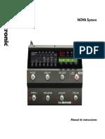 Tc Electronic Nova System Manual Spanish