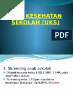 Unit Kesehatan Sekolah (Uks)