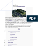 Informacion de Cuencas Hidrograficas
