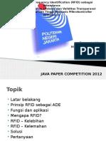 Aplikasi Radio Frequency Identification (RFID) Sebagai