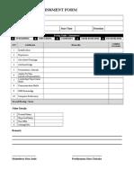 05-Interview Assessment Form