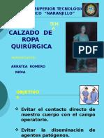 Calzado de Ropa Quirurgica