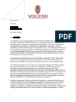Bo Ryan Letter