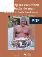 Manual for Processing Sea Cucumbers